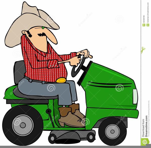 600x589 John Deere Riding Mower Clipart