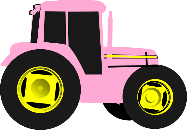 600x417 John Deere Tractor Clipart Free