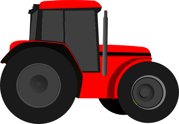 600x416 Tractor Clipart