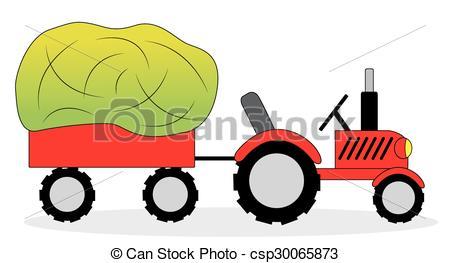 450x263 Tractor Clipart Hay Wagon