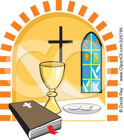 397x450 Baptist Holy Communion Clipart
