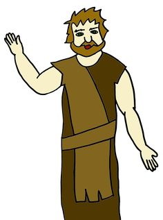 236x317 John The Baptist Clipart