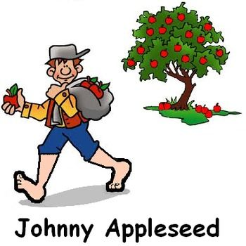 Image result for johnny appleseed animated gif