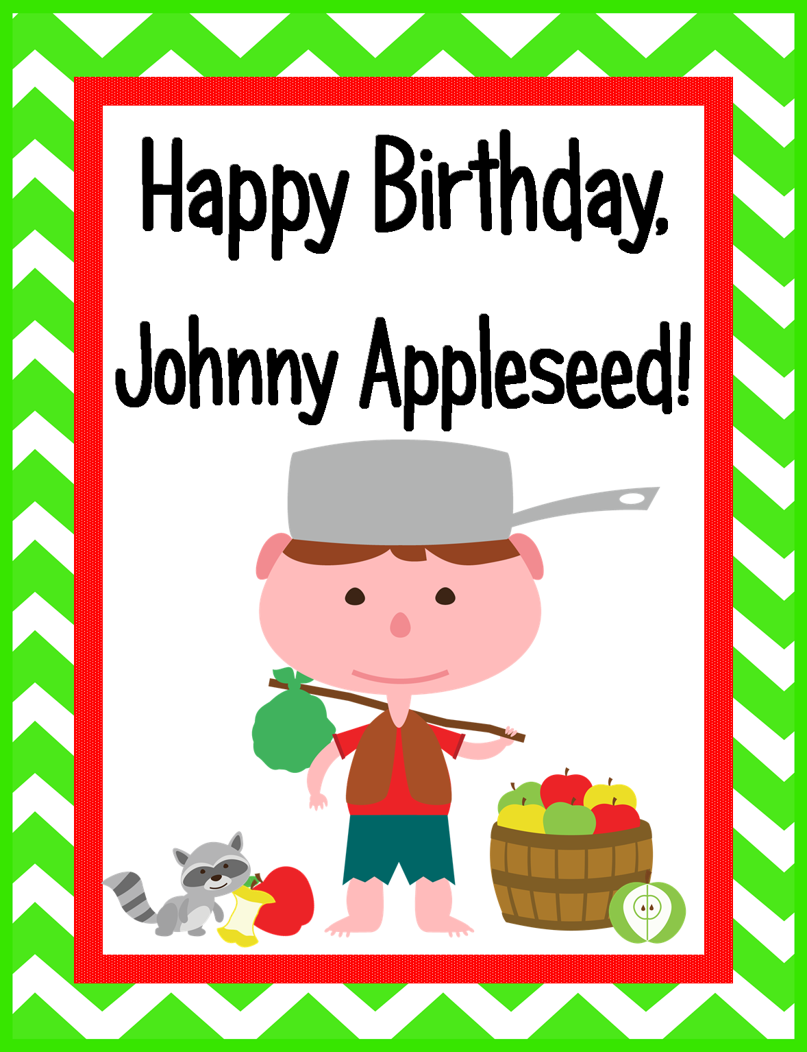 1178x1534 Tricks Of The Teaching Trade Happy Birthday, Johnny Appleseed!