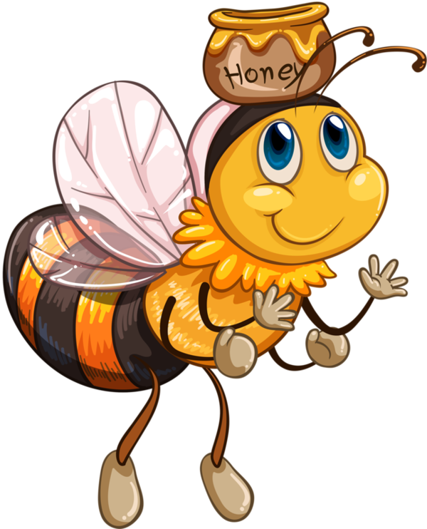 600x742 Bee Language Cliparts Free Download Clip Art