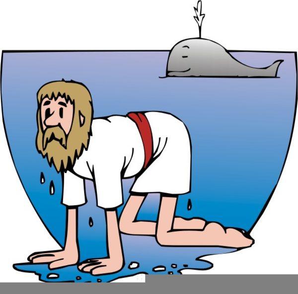 600x592 Free Clipart Of Jonah And The Whale Free Images