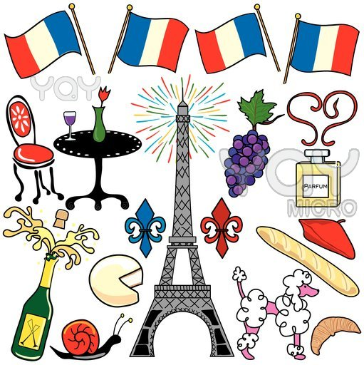 511x512 French Clipart