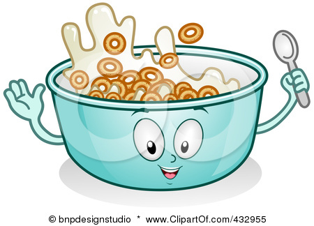 450x324 Cereal Bowl Clipart