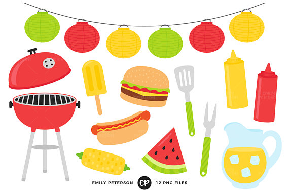 570x379 Summer Bbq Clip Art Barbecue Clipart Cook Out Clip Art