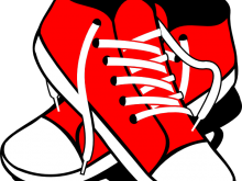 220x165 Clipart Sneakers S Jordan Shoes Drawings Clipart Free Clipart
