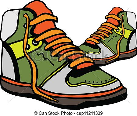 450x382 Gym Shoes Clipart