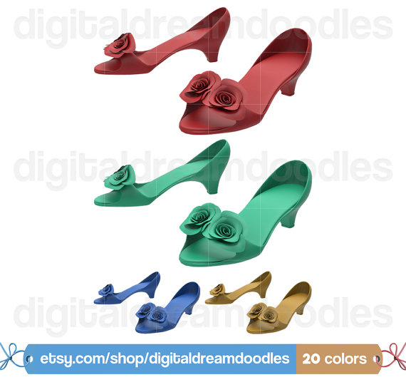 570x550 Low Shoe Clipart