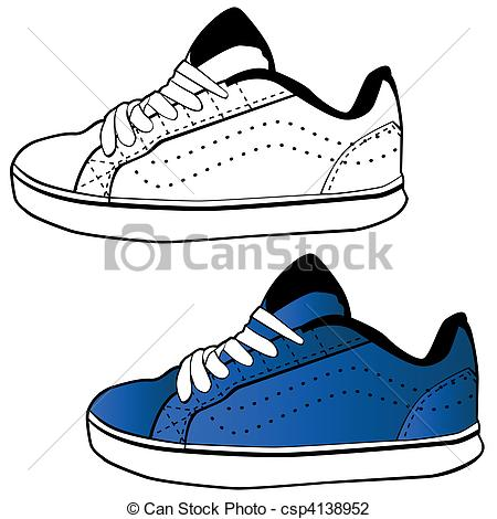 450x470 Running Shoes Drawing Clipart Panda