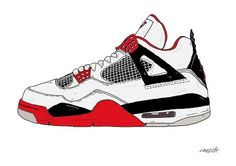 236x166 S Jordan Shoes Drawings Clipart