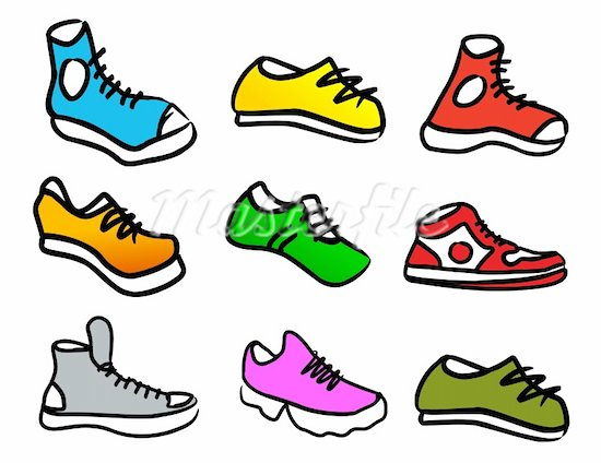 550x424 Collection Of Shoes Clipart Cartoon High Quality, Free