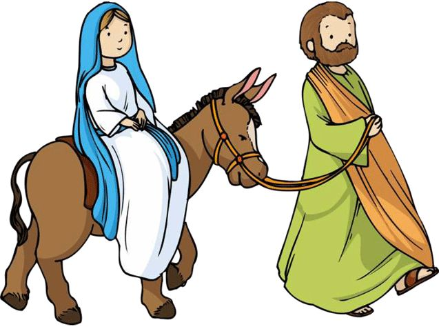 Journey To Bethlehem Clipart