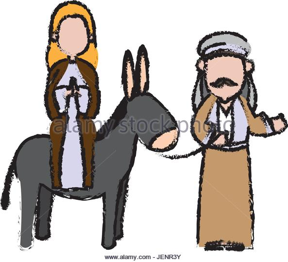 593x540 Mary And Joseph Journey Stock Photos Amp Mary And Joseph Journey