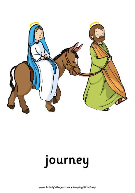 460x654 Printable Image Of Mary On Donkey View And Print Nativity