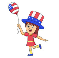 195x192 Fourth Of July Clipart
