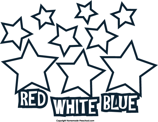 609x470 Free July 4th Clipart