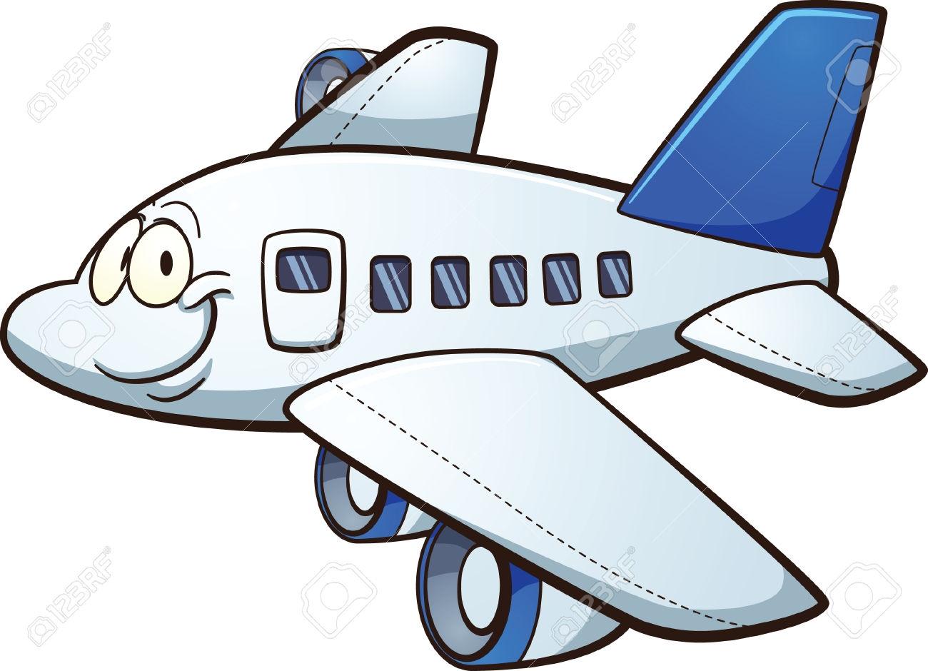 1300x940 Clip Art Cartoon Airplane Clip Art