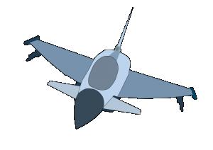 300x212 Jet Cartoon Airplane Clipart