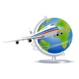 300x300 Travel Globe Clipart, Cliparts Of Travel Globe Free Download (Wmf