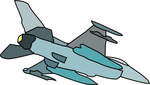 600x340 Fighter Planes Clipart