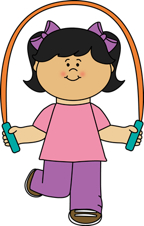 286x450 Girl Playing With Jump Rope Clip Art Dekor