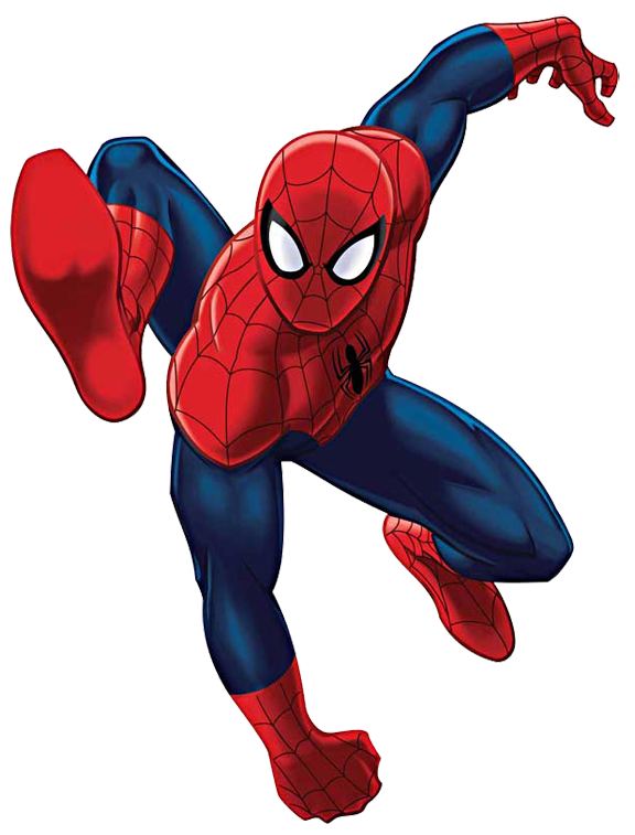 576x757 Spiderman Clip Art Jump Png Image