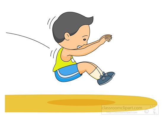 550x401 Long Jump Track Field 131.jpg Cliparts Track Field