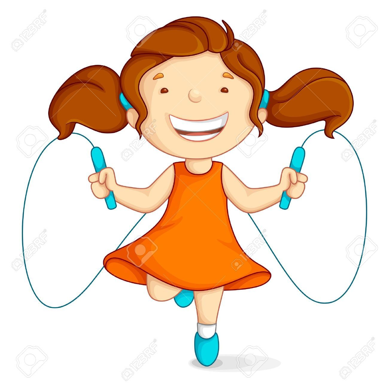 1300x1300 Girl Jumping Rope Clipart Jump Rope Girl Doing Bath