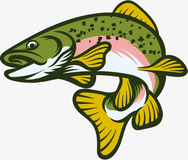 650x555 Green Fish, Jumping Fish, Jump Up, Fish Png And Vector For Free
