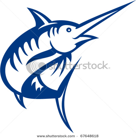 450x461 Ocean Fish Jumping Clipart