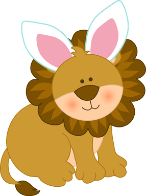 286x383 Easter Jungle Animals Clipart 013.png Mariposas Kit