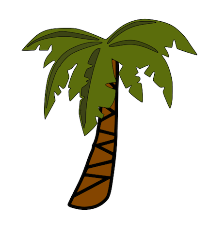 431x480 Free Jungle Clip Art Clipart