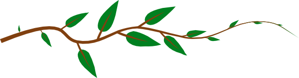 600x158 Jungle Leaves Clip Art Clipart Collection