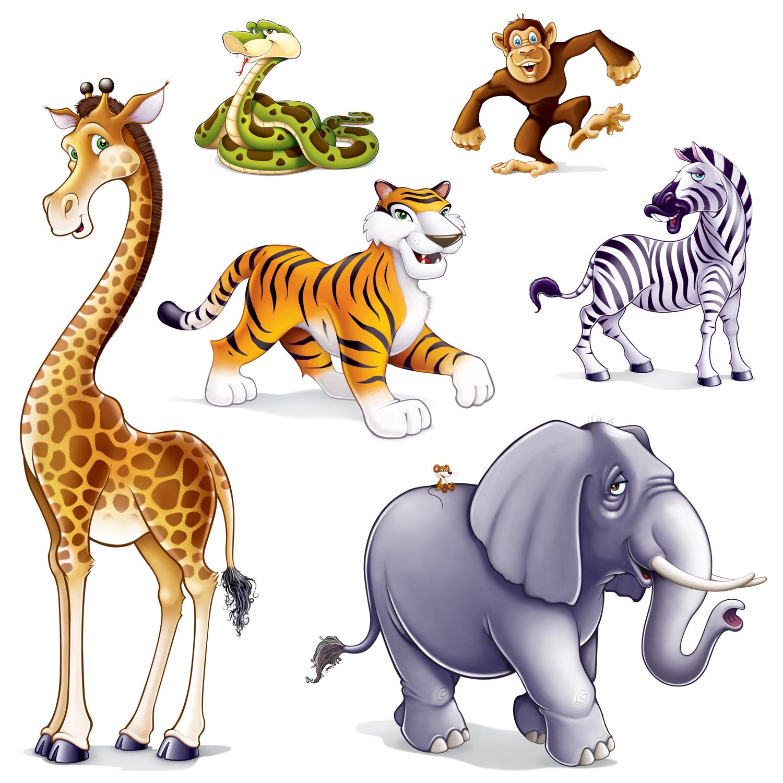 1500x1500 Jungle Animal Clip Art Clipartlook