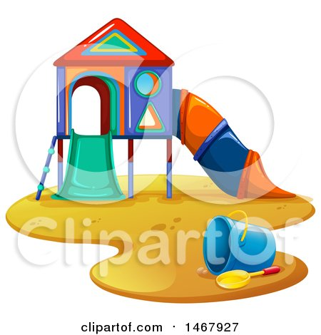 450x470 Vector Clipart Of Playground Pieces