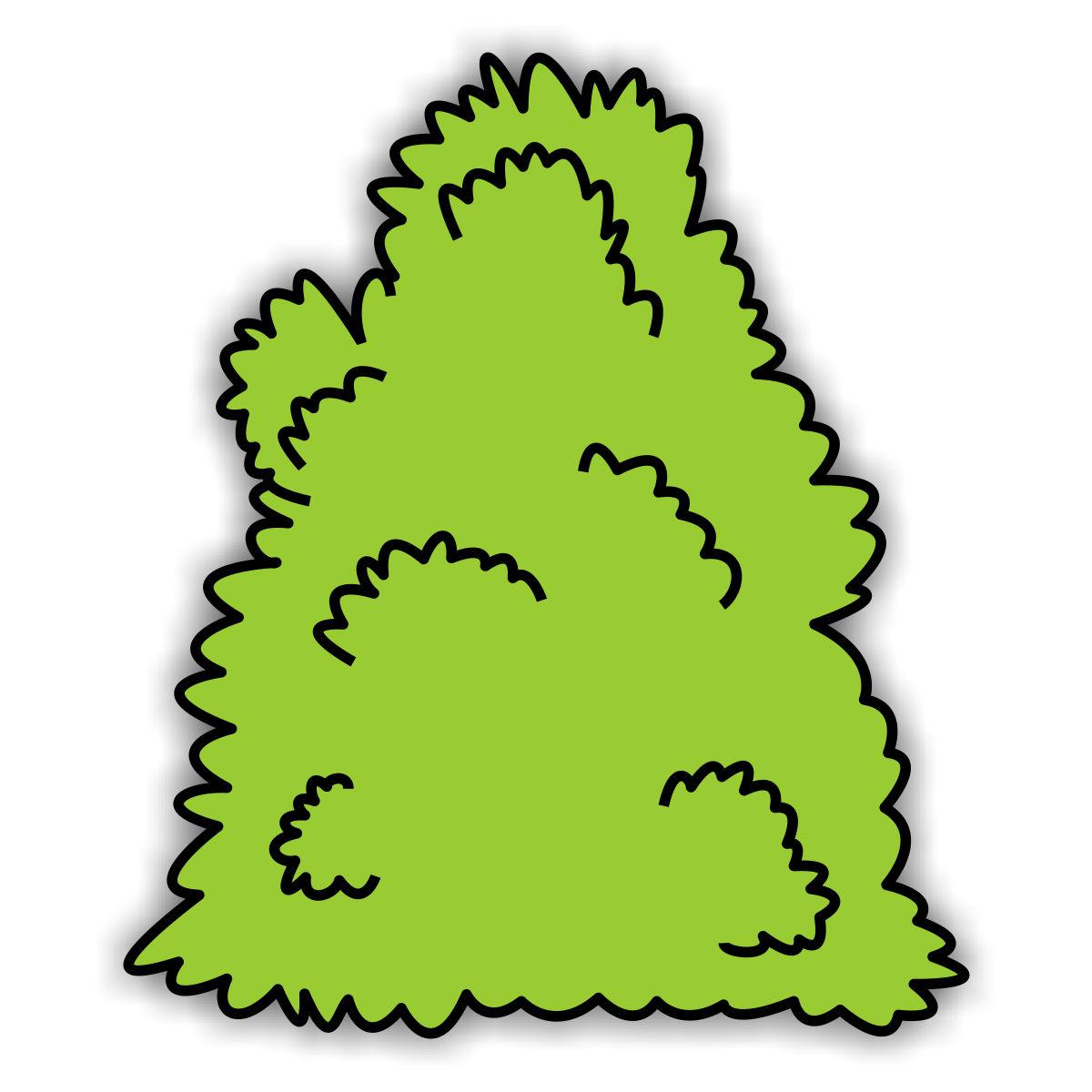 1200x1200 Leaf Bush Cliparts