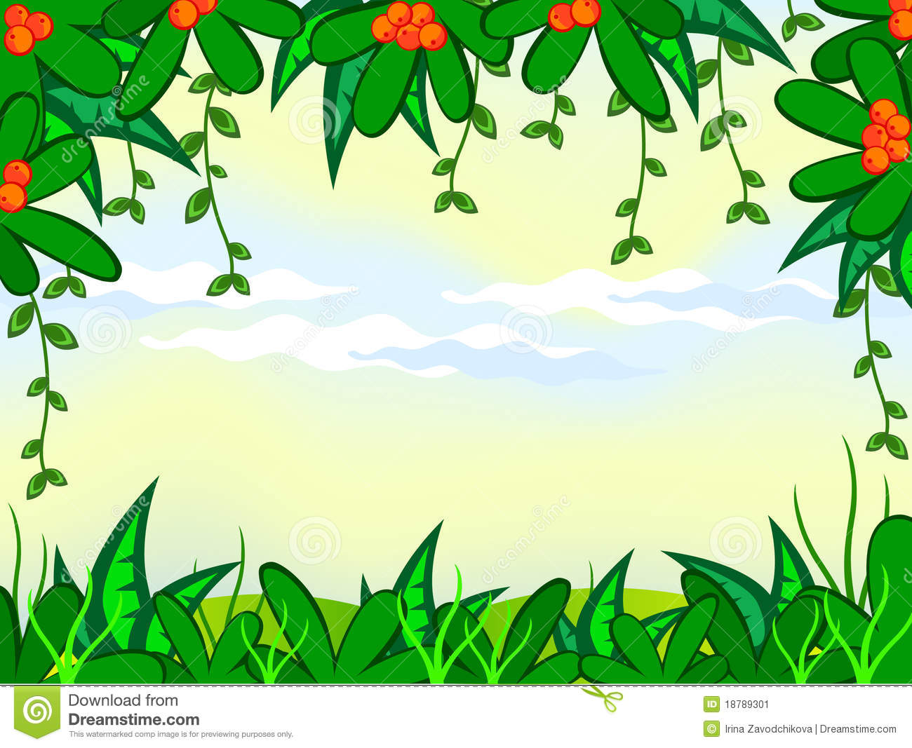 1300x1067 Clip Art Rainforest Background Clip Art