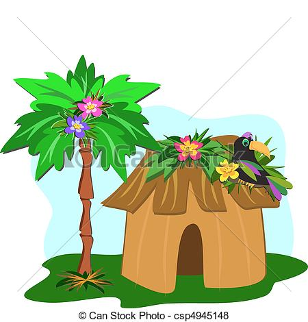450x470 Collection Of Jungle Hut Clipart High Quality, Free Cliparts