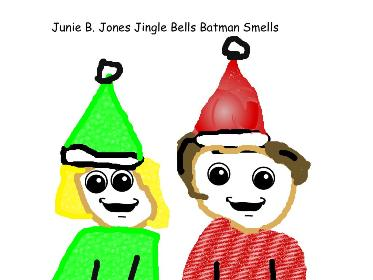 373x280 Junie B. Jones Jingle Bells, Batman Smells Written By Barbara Park