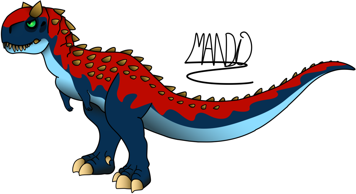 1211x660 Carnotaurus By On @ Spiny
