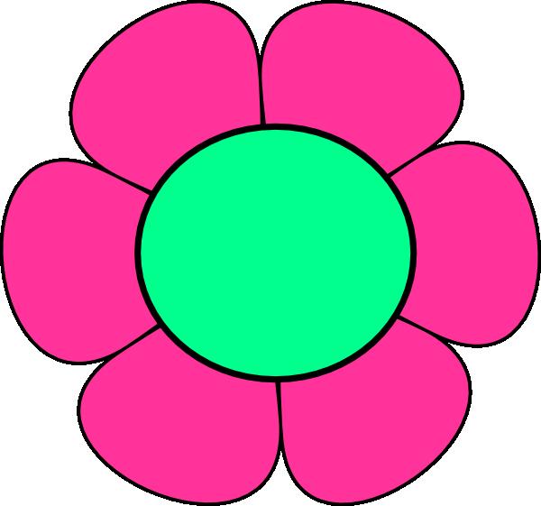 600x561 Green Flowers Clip Art