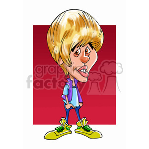 300x300 Clip Art Cartoon Celebrities And More Related Vector Clipart