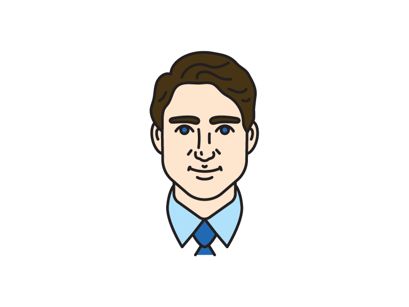 800x600 Justin Trudeau By Isabel Foo