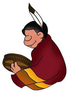 236x318 Free Native American Clip Art By Phillip Martin, Plains Sioux