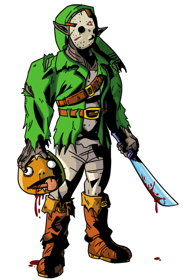 600x896 Link The Killer From Camp Hylia Lake By Michaeljlarson
