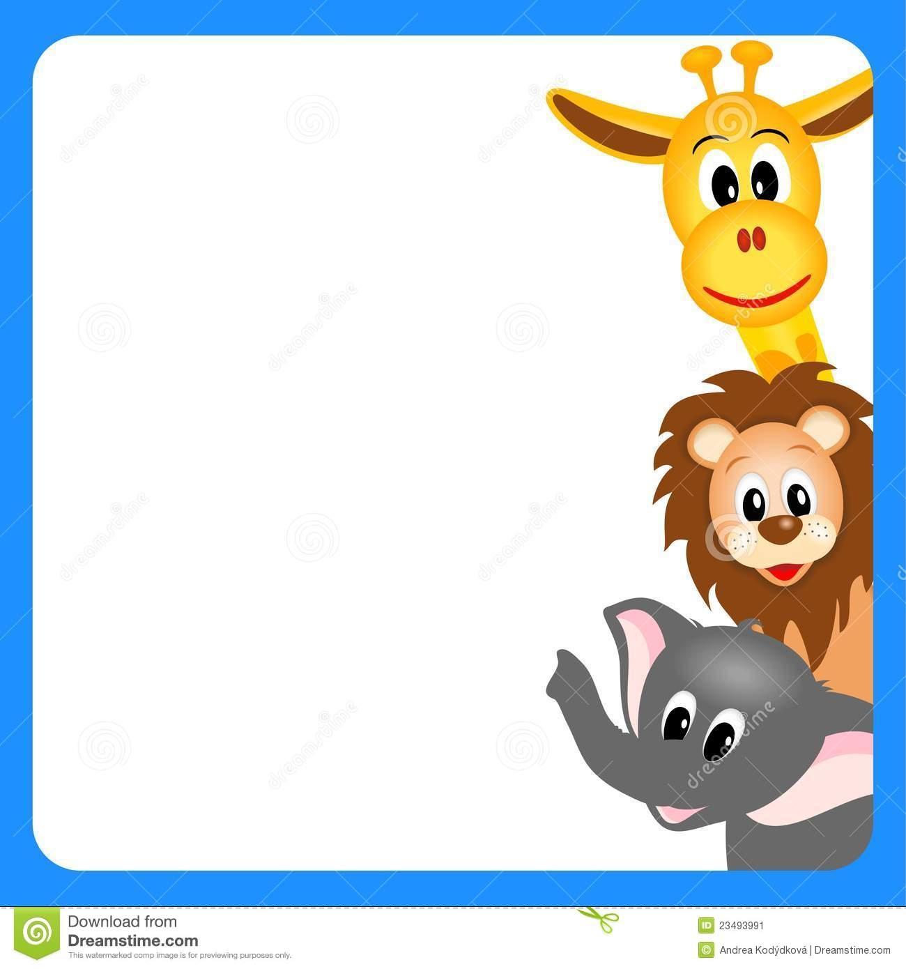 1300x1390 Animal Cliparts Border Free Download Clip Art Free Clip Art